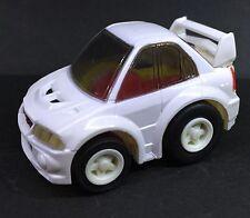 Japan Tomy Choro Q Mitsubishi Lancer Evolution VI EVO VI 6 CAR WHITE RARE
