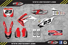 Honda CRF 250 - 2010- 2013 Full Custom Graphic  Kit - REBOUND Style sticker kit