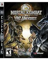 Mortal Kombat vs. DC Universe Playstation 3 Ps3 Game Joker/batman/wonder Woman