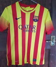 Barcelona Away Camiseta 2013-14, 12-13 Años, Buen Estado