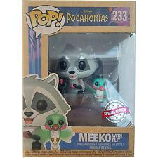 DIsney Store Meeko & Flit Funko Pop Vinyl Figure #233 Pocahontas Special Edition