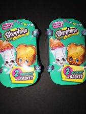 Shopkins Season 3 Two Shopkins In A Basket Blind Packs SET OF 2 FUN GIFT!!