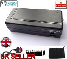 NUOVO 120W UNIVERSALE ADATTATORE AC Power Caricabatterie USB LAPTOP NOTEBOOK Regno Unito (9 PUNTE)