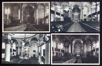 Oxon BANBURY St Mary's Church Interior 4 RP PPC