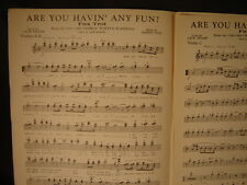Big Band Music Charts Fox Trot DEEP IN A DREAM 1938 Jimmy Van Heusen Le Lange