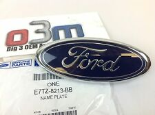 1998-2004 Ford F150 Front Grille Blue Oval NAMEPLATE Emblem FEO E7TZ-8213-BB