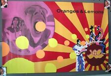 1989 Rock Poster Oranges & Lemmon Geffen Records