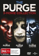 The PURGE 3-Movie Collection - 1 / 2 : Anarchy / 3: Election Year - NEW DVD
