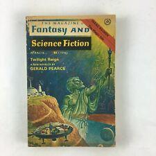 Mar Fantasy & Science Fiction Magazine Twilight Reign ANew Novella Gerald Pearce