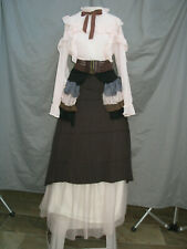 Civil War Dress Womens Victorian Costume Edwardian Reenactment