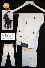 Ralph Lauren Slim Fit Jeans White Pony Print Logo Various Sizes 30,32,34