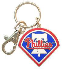 Philadelphia Phillies MLB Logo Metal Key Chain