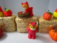 Enesco Lucy & Me Devil Bobbing For Apples & Bear In Devil Costume So Cute!