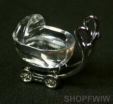 Fashioncraft Crystal Baby Carriage  Shower Christening New Baby Gift Party Favor