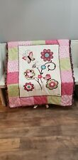 NWT Cocalo Taffy Sweet Little Girl's Crib Size Quilt