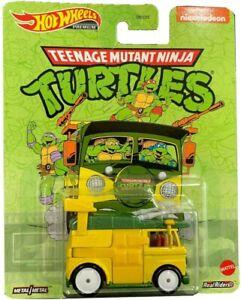 Die Cast Modellino PARTY WAGON Tartarughe Ninja 1:64 6cm Hot Wheels Premium