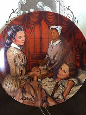 "Gone With The Wind(Vintage) Plate Collection ""Melanie Gives Birth"" W/Box & Coa"