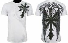 Affliction Short Sleeve 100% Cotton Graphic Tees for Men