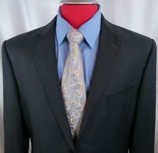 Marchatti Italy Suit 44R Gray 2btn D. Vent