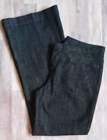 Maurices Size 9/10 Regular Jeans Dark Wash Boot Cut Stretch Inseam 32 L 41 W 33