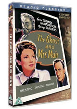THE GHOST AND MRS MUIR DVD Rex Harrison Natalie Wood Isobel Elsom UK Release New