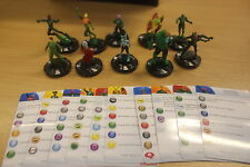 Heroclix Green Lantern Gravity Feed Set #201-210