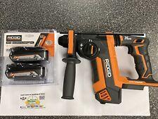 Ridgid R86711b 18v Octane Brushless 1 Sds Plus Rotary Hammer 18v 2ah Batt