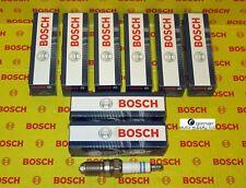 Audi 8 Piece Spark Plug Set - BOSCH - 0242235607, HGR7KQC, 7411 - NEW OEM Plugs