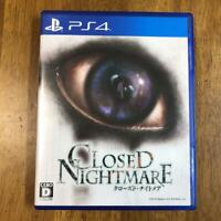 PS4 CLOSED NIGHTMARE 4995506002794 Japanese ver from Japan