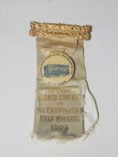 Metropolitan Life Insurance Co. New York 1904 THE EIGHTH DOMINION CONVENTION PIN