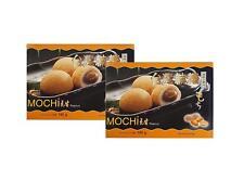 SPAREN:  2x180g Erdnuss MOCHI -12 Reiskuchen mit ERDNUSS Füllung Klebreis Mochis