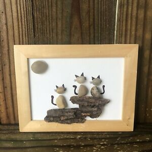 Handmade Wooden Cat Home Decor Plaques Signs For Sale In Stock Ebay