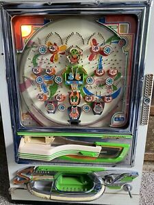 Sanyo Vintage Pachinko machine, Dogs And Roosters, It Works