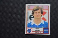 Panini Fußball 82, Willi Wagner, Darmstadt 98, handsigniert