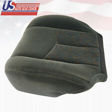 2003 To 2006 Chevy Silverado LS LT Z71 Driver Bottom Cloth Seat Cover Dark Gray