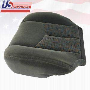 2003 To 2006 Chevy Silverado LS LT Z71 Driver Bottom Cloth Seat Cover Dark Gray