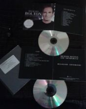 LARA FABIAN SEAL ...DANS DOUBLE CD PROMO UK MICHAEL BOLTON GEMS+THE VERY BEST OF