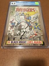 AVENGERS #48 CGC 4.5 1ST DANE WHITMAN BLACK KNIGHT CREAM/OFFWHITE PAGES
