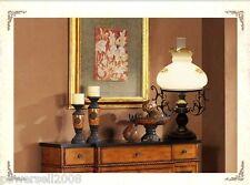 European Vintage Style Metal+Glass Diameter 35cm Height 60cm Table Lamp