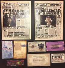 Ravenclaw Christmas Stocking Stuffer Daily Prophets Tickets Harry Potter Custom