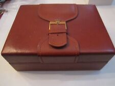 Leather - Very Nice - Rolex President Watch Box -
