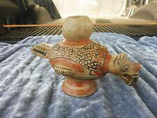 Mayan Pre Colombian Condor Vessel Figure