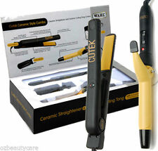 Wahl Combo Full Size Ceramic Hair Straightener Iron & Curling Tong Roller ZX311