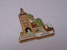 Pin's Riquewihr Alsace plus beaux villages de France PBVF LB Création