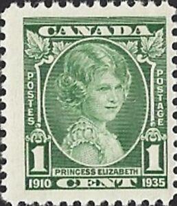 Canada   # 211    PRINCESS ELIZABETH      Brand New 1935  Pristine Original Gum