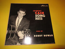 BOBBY ROWAN - JOHNNY CASH SONG HITS SUNG BY LP EX PRIVATE PRESS COUNTRY