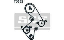 SKF Bomba de agua + kit correa distribución TOYOTA AVENSIS RAV VKMC 91003