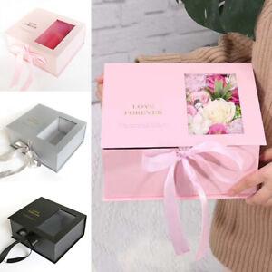 1PC Flowers Gift Box Wedding Festival Bouquet Handheld Flip Flower Packaging Box