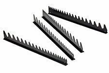 Ernst 6015T  40 Tool Space Saver Wrench Organizer Rail Kit w/ Mount Tape - Black