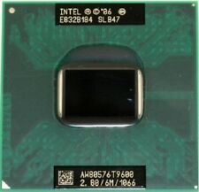Intel Core 2 Duo T9600 SLB47 2,80GHz/6Mb/1066MHz FSB Processore CPU notebook P81